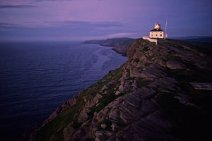 Cape Spear, site of Newfoundland's oldest surviving lighthouse