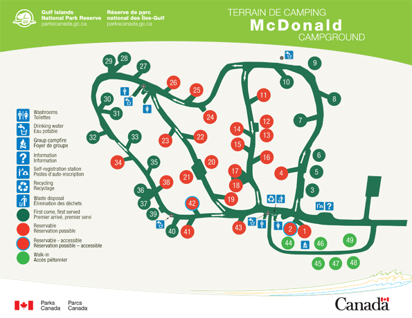 McDonald Campground