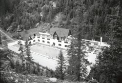 Miette Hot Springs – Original swimming pool circa 1950