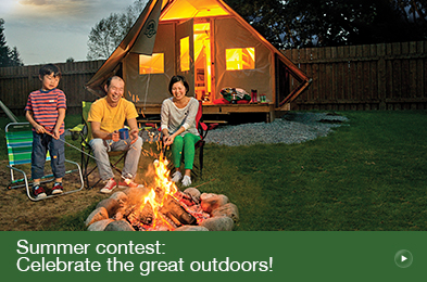 Summer contest: Celebrate the great outdoors!