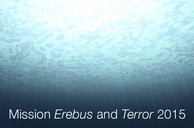 Mission Erebus and Terror 2015