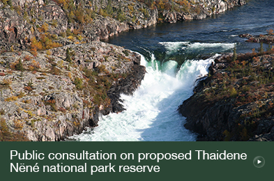 Public Consultation on Proposed Thaidene Nëné National Park Reserve