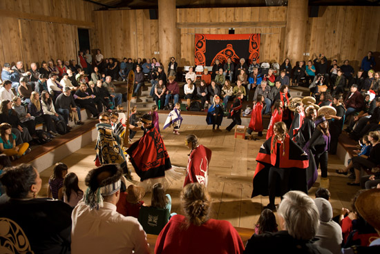 Residents of Haida Gwaii came out in force to celebrate the unveiling of the Gwaii Haanas Legacy Pole design
