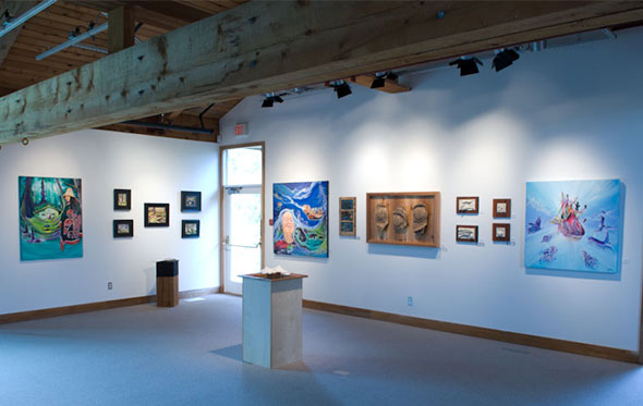 The 2013 Artists in Gwaii Haanas exhibition at the Haida Gwaii Museum