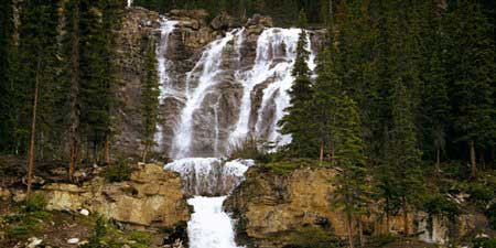 Tangle Falls, Jasper National Park