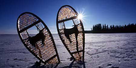 Snowshoes, Waskesiu Lake, Prince Albert National Park