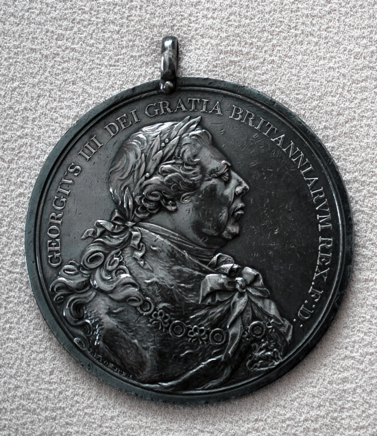 "Silver ""Chief's Medal"""
