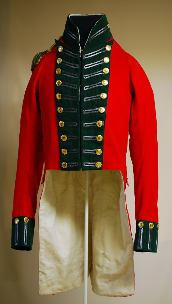 Habit d'officier, 49e Régiment d'infanterie