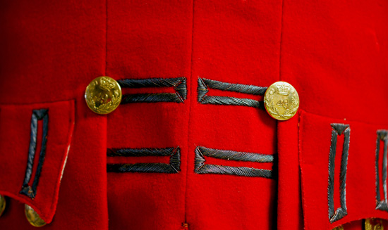 Officer Dress Coat, 49th Regiment of Foot