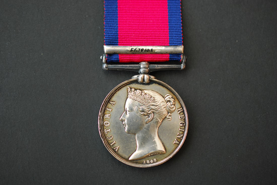 Military General Service Medal, Fort Detroit Bar