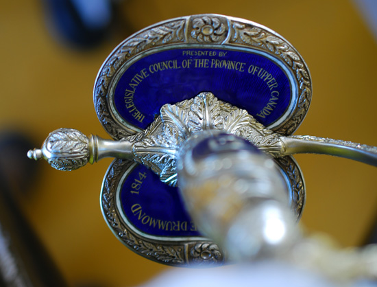 General Sir Gordon Drummond's Presentation Sword