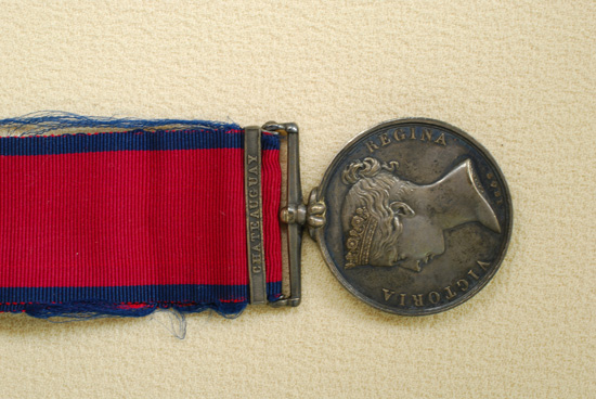 Military General Service Medal, with the Battle of the Châteauguay Bar