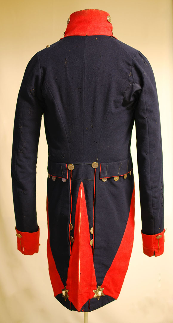 New York State Militia Officer's Coatee.