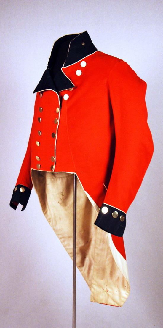Coatee of Colonel Matthew Elliott