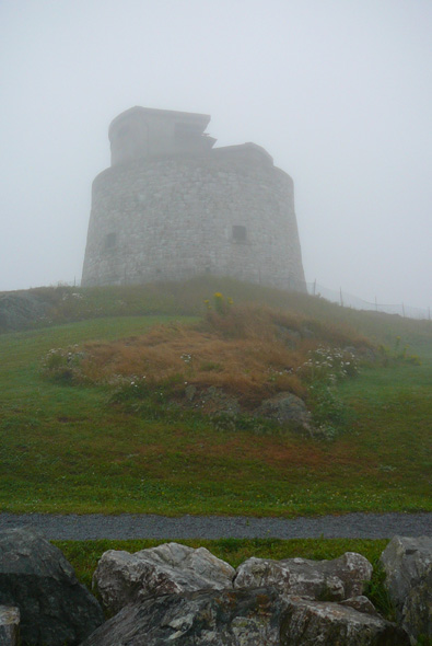 Carleton Martello Tower in Saint John, New Brunswick