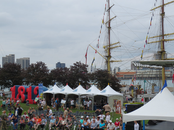 1812 On Tour at the Tall Ships Festival in Windsor, Ontario, 2013
