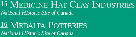 Medicine Hat Clay Industries and Medalta Potteries National Historic Sites of Canada