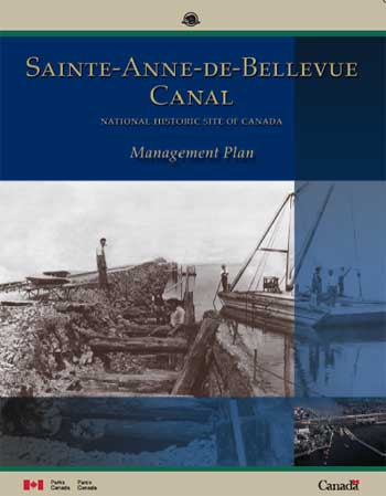 Cover page for the Sainte-Anne-de-Bellvue management plan.