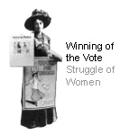Winning of the Vote - Struggle of Women