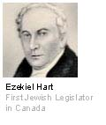 Ezekiel Hart - First Jewish Legislator in Canada