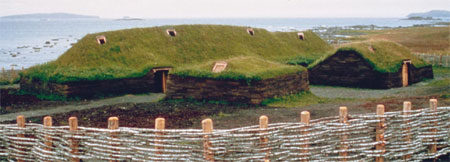 L'Anse aux Meadows, Newfoundland - Only Authenticated Viking Settlement in North America