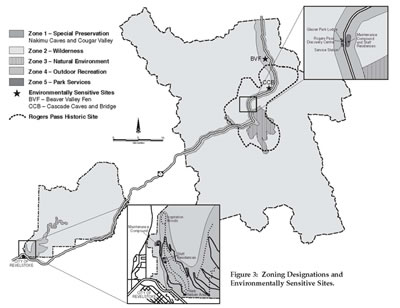 Figure 3: Zoning Designations and Environmentally Sensitive Sites