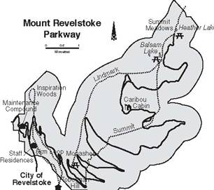 Mount Revelstoke Parkway landscape management unit