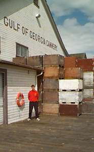 The dock of the Cannery where the Fishermen used to unload their catch
