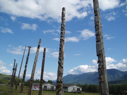 Totem Poles of Gitwangak National Historic Site