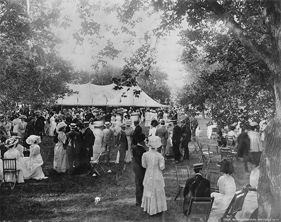 Garden Party for the British Association, 1909