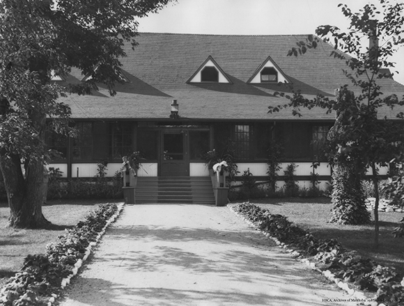 Governor's Residence, 1933