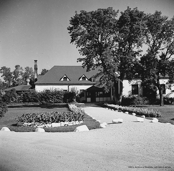 Residence – Facing West, about 1954 or 55