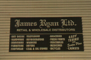 James Ryan Ltd. Sign