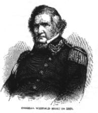 US Army Brigadier-General Winfield Scott
