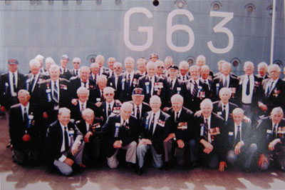 Veterans in front of G63