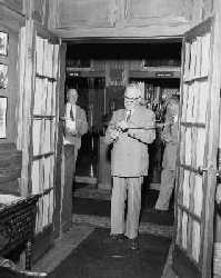 Prime Minister Louis St. Laurent opening Laurier House to visitors, August 1st 1951