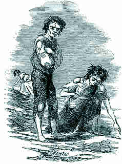 Children suffering during the Great Famine