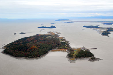 Grosse Île, an exceptional natural heritage