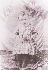 Louis S. St. Laurent as a child
