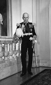 Governor General Vincent Massey