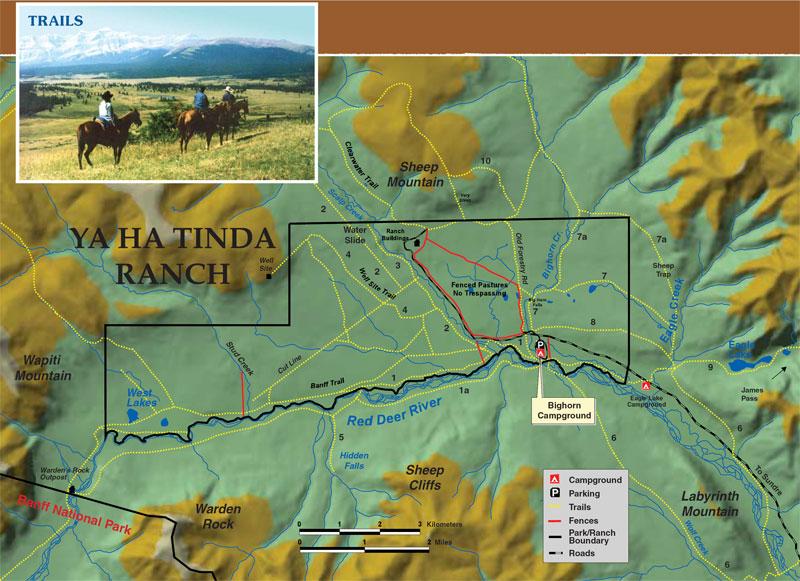 Parks Canada Banff National Park Ya Ha Tinda Ranch