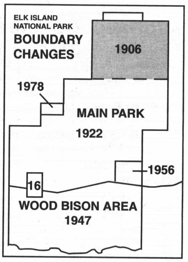 Elk Island National Park Boundary Changes