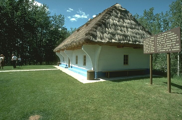 Ukranian Pioneer Home located in Astotin Lake Area