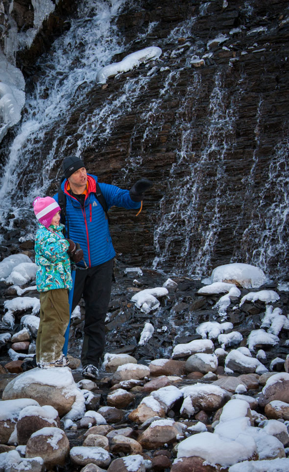 The canyon offers a first hand chance to explore Jasper's fascinating karst system- one of the largest anywhere in the world!