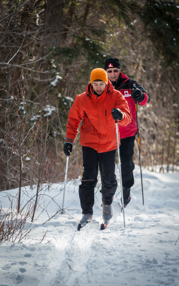Jasper offers one of the largest networks of groomed cross country ski trails in the Canadian Rockies - with 20km of new trails being opened in December 2013!