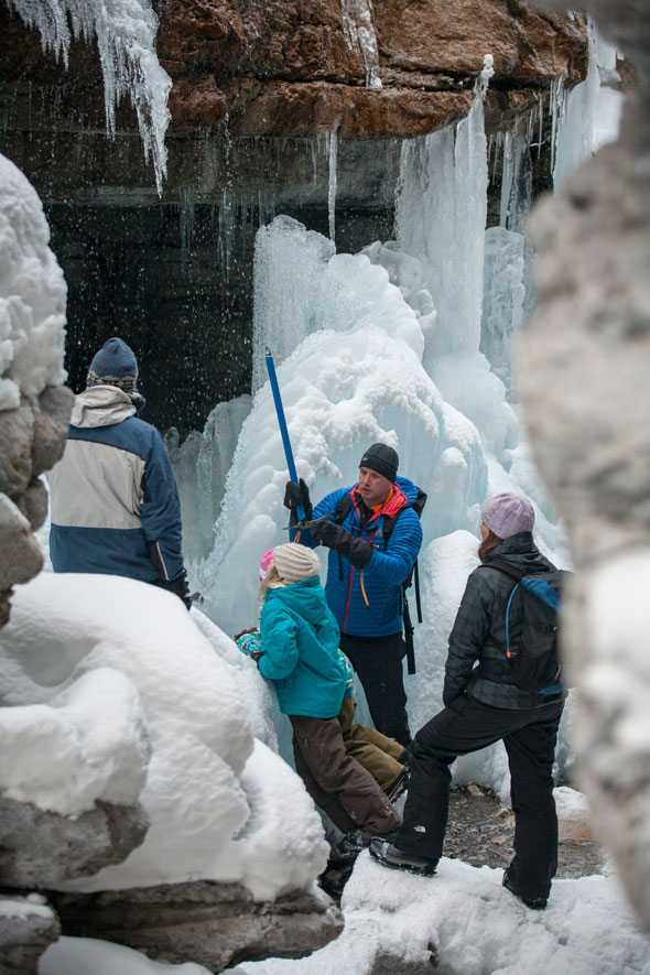 Guided Walk in Maligne Canyon