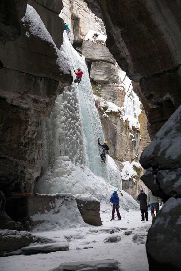 Maligne Canyon activities