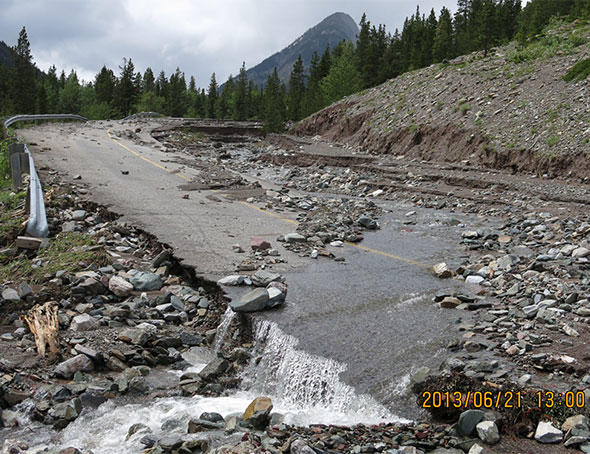 Debris from Ruby Creek, Site 7