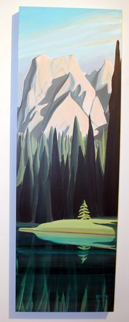 Valerie Speer's 'Emerald Lake II'