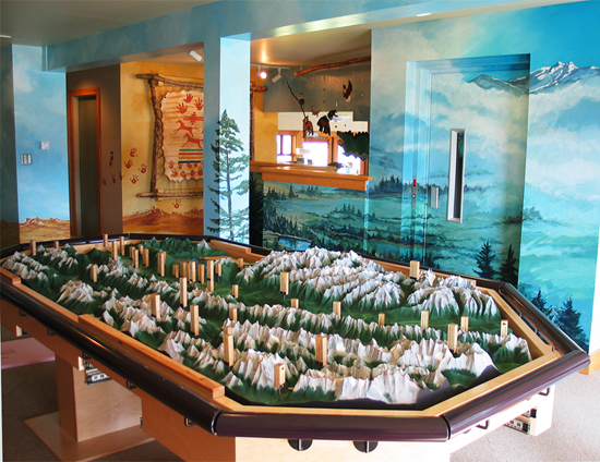 Kootenay National Park and Columbia Valley Model